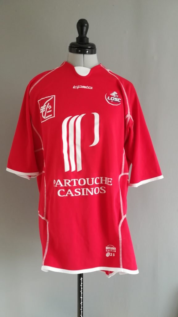 Maillot Football Collection Vintage LILLE OSC 2003 2004 Taille: XL La Bouti'c